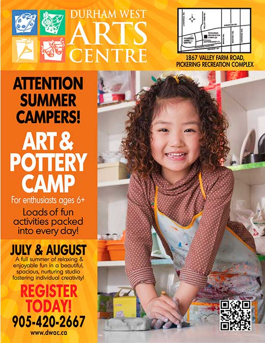 Summer Pottery Camps